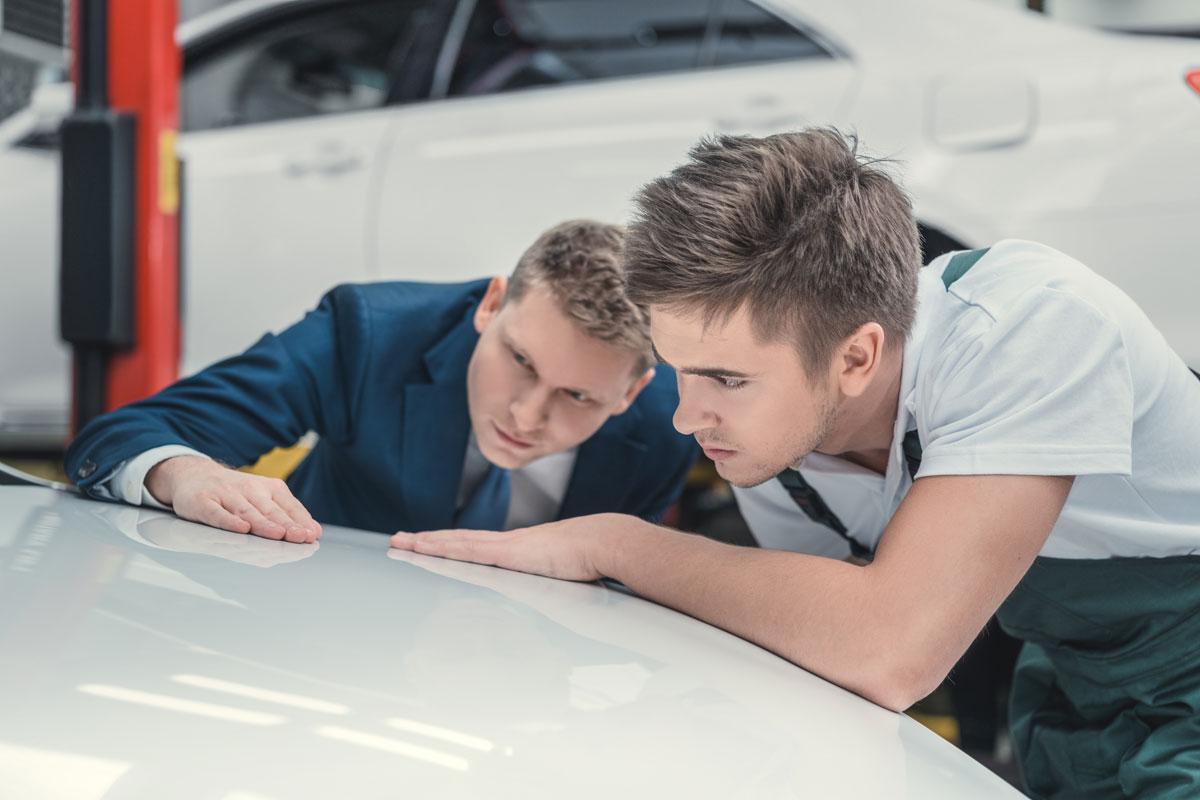 Dommages à la voiture : voulez-vous réclamer ou non les frais de réparation ?